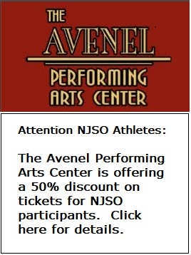 NJSO Athletes - enjoy a 50% discount on tickets from the Avenel :Performing Arts Center